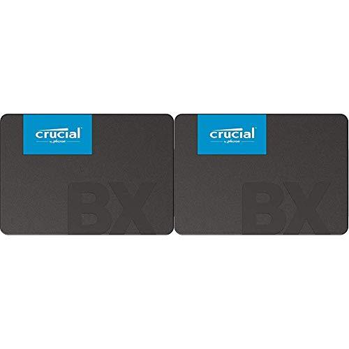 Crucial BX500 CT480BX500SSD1 480 GB Internes SSD (3D NAND, SATA, 2,5-Zoll) Standard Packaging + 240 GB Internes SSD (3D NAND, SATA, 2,5-Zoll) Standard Packaging