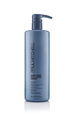 Paul Mitchell Spring Loaded Frizz-Fighting shampoo – haarreiniging voor krullen en golvend haar, sulfaatvrije shampoo met anti-rice effect