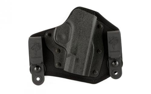 DeSantis Invader Inside Fits M&P45 Shield Nylon Right Hand Pants Holster, Black