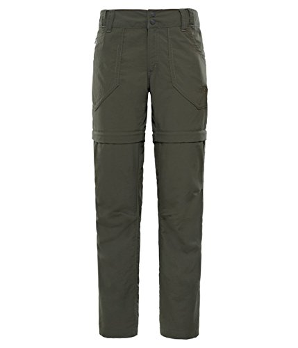 The North Face Horizon Convertibl - Pantalón para Mujer (Ropa Deportiva), diseño de Horizon Convertibl, Mujer, T0CEF8HCJREG6, marrón, FR : S (Taille Fabricant : 6)