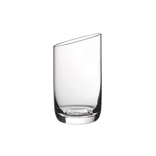 Villeroy & Boch 11-3653-8070 NewMoon Set de Vasos, 4 Piezas, Contemporaneo Vaso día, Apta para lavavajillas, Cristal, Transparente