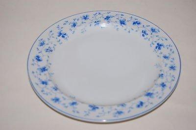 Rosenthal Arzberg 41382-607671-10019 Frühstücksteller / Teller / Kuchenteller - Blaublüten - Porzellan - Ø 19 cm - Fahne