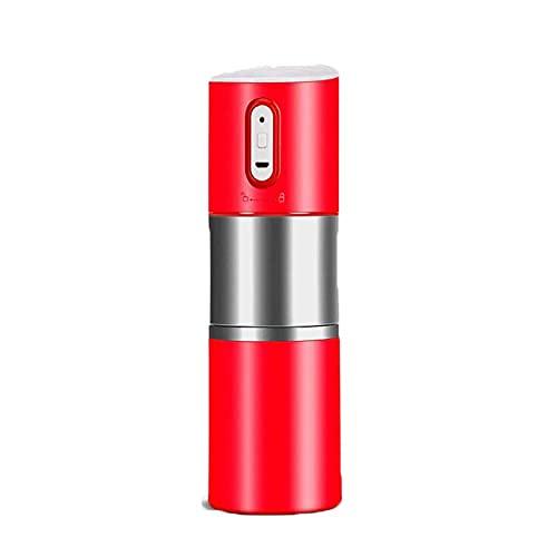 Wohnzimmerzubehör Tragbare automatische Mini-Kaffeemaschine Kompatibel gemahlener Kaffee Elektrisches Mahlen der Kaffeetasse Wiederaufladbare Ein-Knopf-Kleine Reise-Kaffeemaschine Manuell über Kolben