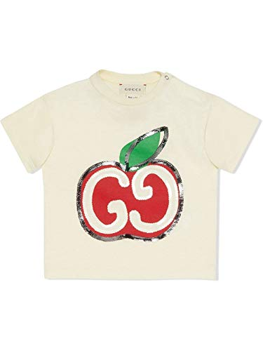 Luxury Fashion | Gucci Baby-meisjes 581019XJCDC9756 Beige Katoen T-shirts | Lente-zomer 20
