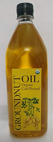 Daana Single Origin Organic, Cold Pressed Groundnut Oil, 1 L