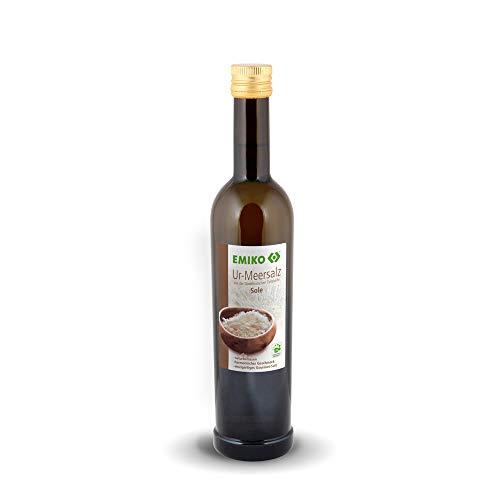 EMIKO® Ur-Meersalz Solespray 500ml Nachfüllflasche