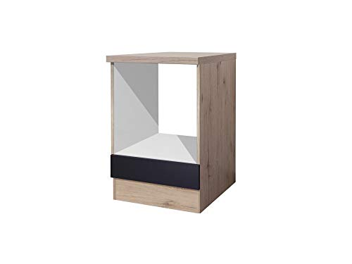 Smart Möbel Herd-Umbauschrank 60 cm Anthrazit - Lino