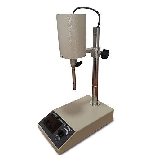 WINUS Dispersion Lab Homogenizer, Stainless Steel High Speed 22000rpm FSH-2A 185W Lab Mixer 10~1000ml