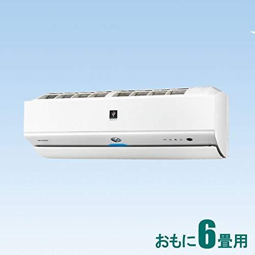シャープ 【エアコン】おもに6畳用 (冷房:6~9畳/暖房:6~7畳) LXシリーズ AY-L22X-W