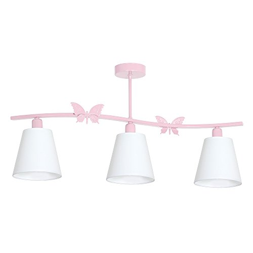 MINI SPOT III Hellrosa Kinderzimmerleuchte Kinderzimmerlampe Hängelampe Deckenleuchte Deckenlampe Kronleuchter