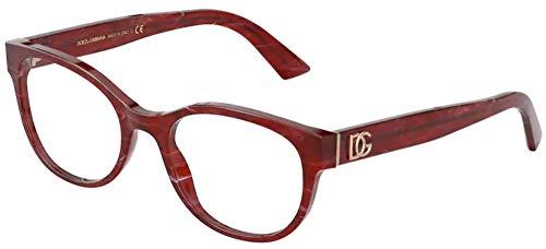 Dolce & Gabbana DG MONOGRAM DG 3327 RED 52/19/140 women Eyewear Frame