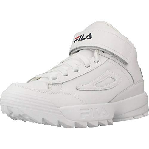 Calzado Deportivo para Mujer, Color Blanco, Marca FILA, Modelo Calzado Deportivo para Mujer FILA D2 Disruptor Mid Blanco
