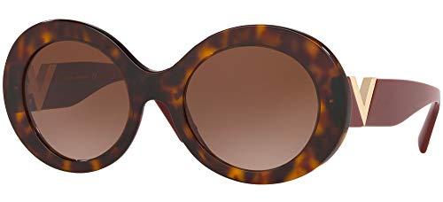 Occhiali da Sole Valentino V LOGO VA 4058 Havana/Brown Shaded 52/21/140 donna