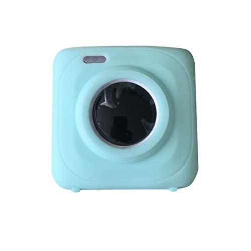 itchoate Impressora fotográfica instantânea portátil Impressoras térmicas Office Electronics Fotos e contas para impressora Capa protetora de silicone - verde
