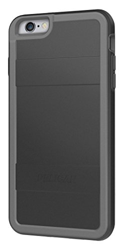 Pelican Cell Phone Case for Apple iPhone 6Plus/6s Plus - Retail Packaging - Black/Gray