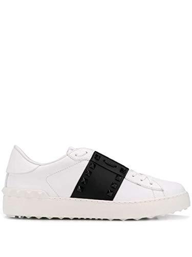 Luxury Fashion | Valentino Garavani Dames TW2S0A01LTUA01 Wit Leer Sneakers | Seizoen Permanent