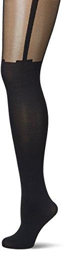 Fiore Sexy - Medias con efecto bajo y ligeras, color negro T2