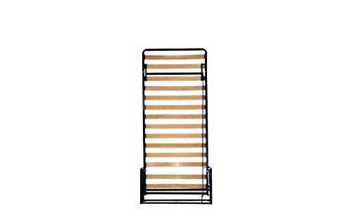 Wallbedking Classic Einzel WANDBETT (Längs) 90cm x 200cm (Klappbett, Schrankbett, Gästebett, Funktionsbett)