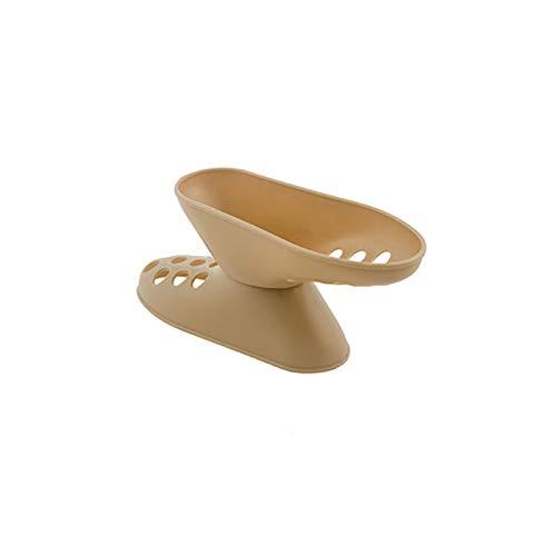 LJKD Estante de Almacenamiento de Zapatos, organice el Estante para Zapatos, Porta Zapatos de Doble Capa, portátil 14 * 5 * 4 cm,Beige