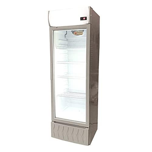 Frigo Vetrina Bibite - Verticale - Refrigerata - 1 Anta in Vetro - 0 /+10°C - 295 lt - 535x600x1850h mm
