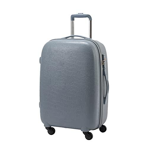 GIVROLDZ Valigia da 20 Pollici con Ruote girevoli Bagaglio da Viaggio Rigido, Trolley da Viaggio con Lucchetto a Combinazione TSA Integrato, Regalo per Viaggi di Ragazzi e Ragazze,B
