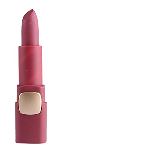 Rouge à lèvres,Honestyi Miss Rose Rouge à lèvres Mat Cosmétique à lèvres Longue durée imperméable (50)