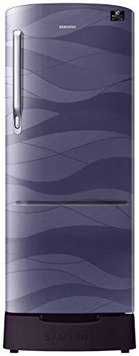 Samsung 215 L 4 Star Direct-Cool Single Door Refrigerator (RR22T385XRV/HL, Purple Wave)