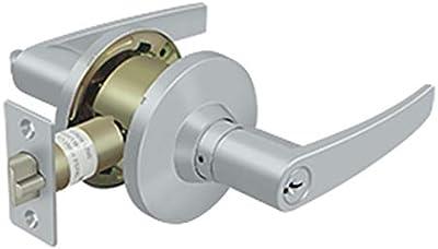 Uscan Grade 2 Lever Entrance Lock Dull Chrome