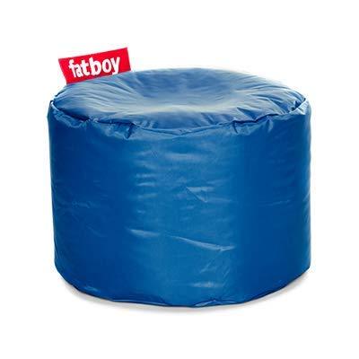 Fatboy® Point Hocker Nylon Petrol   Runder Sitzhocker in Blau   Trendiger Poef/Fußbank/Beistelltisch   35 x ø 50 cm