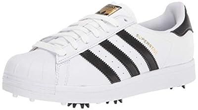 adidas unisex adult Golf Shoe, White, 10 US