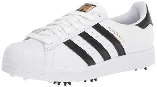 adidas unisex adult Golf Shoe, White, 11 US