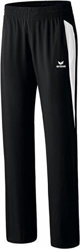 Erima Damen Premium One Präsentationshose, Schwarz/Weiß, 36, 110442