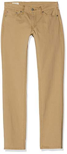 Levi's pour des Hommes 511 Jeans Slim Fit, Beige, 33W x 32L