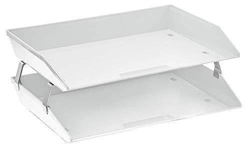 Acrimet Facility Briefablage doppelt Querformat Design (A4 format) (Weiß)