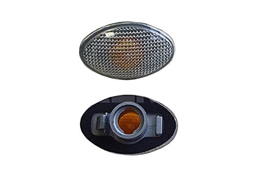 Alkar 3103386 Réversible, feu lateral, sans porte-lampe, blanc