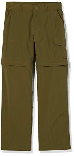 Columbia Silver Ridge IV, Pantalones de Senderismo Convertibles, Niña, Verde (New Olive),...