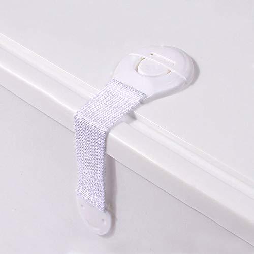 Runaup Kinderveilige veiligheidssloten multifunctioneel 6-pack Durable Baby Lock voor kasten, laden, kast, oven, koelkast, kast deurraam met 3M lijm