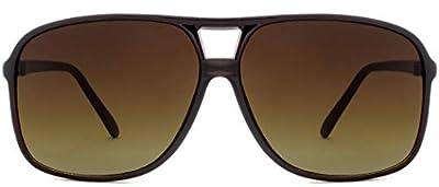 NYS Collection Hanover Square Urban Aviator Sunglasses