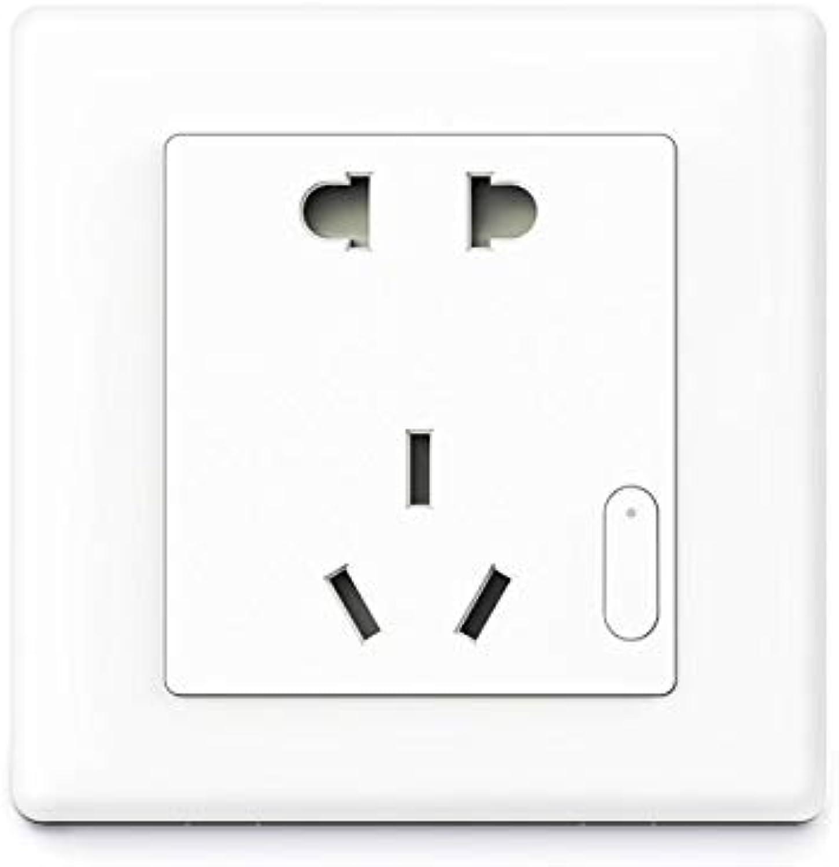 Laliva PlugsAqara Smart Wall Socket Switch Air Conditioning Companion+Temperature and Humidity Sensor+Smart Linkage(Standard  Universal Plug, color  White)