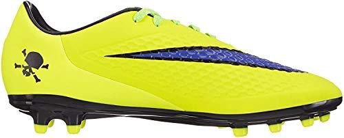 Nike HYPERVENOM Phelon FG Herren Fußballschuhe, Gelb (Volt/Persian Violet-Hot Lava-Black), 6