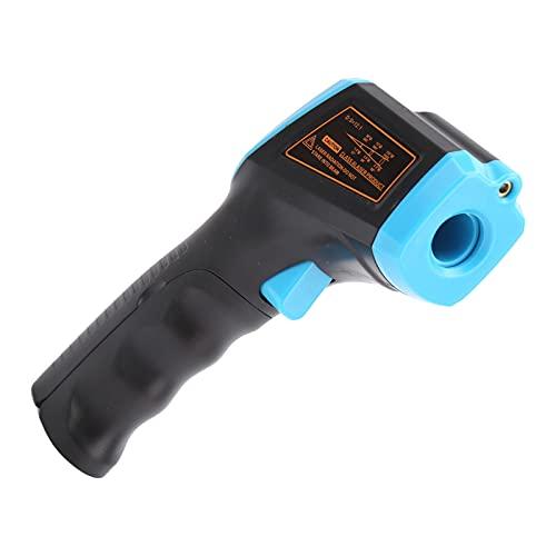 Pistola de temperatura, control de calidad estricto por infrarrojos 4 colores con manual de usuario para superficies de cocción(azul)