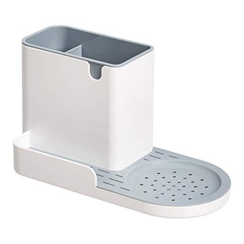 Amazon Basics - Organizer per lavello da cucina portaspugne, grande