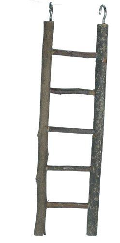 Elmato 10367 bois naturel Escabeau 5 marches, env. 26 cm Lot de 3