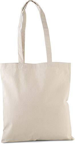 Kimood Sac shopping classique coton bio - Naturel, One Size