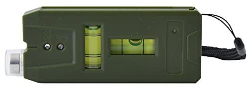 山善 壁うらセンサー (磁石/水平/垂直気泡管付) (木材/金属) 判別可能 下地探し 壁うら探し [URAMIL] オリーブ SS-ME19