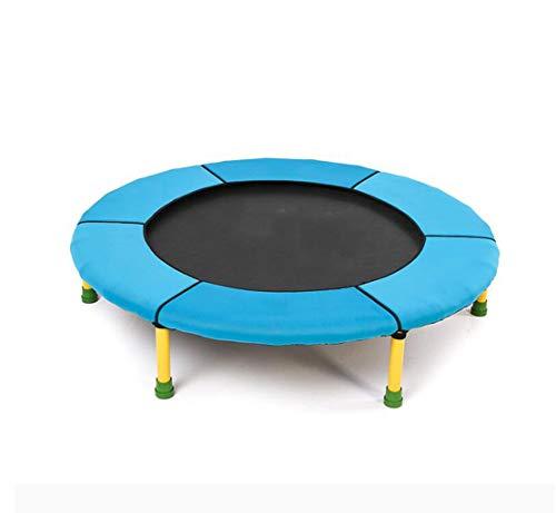 Opvouwbare trampoline, Thuis indoor trampoline, Spring zonder netten fitness apparatuur, Dragende 45 kg, Simple gecombineerde installatie, geschikt for home/outdoor