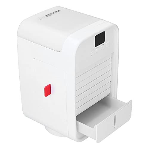 Yivibe Ventilador de Aire Acondicionado, Enfriador de Aire 120 ° Cabezal agitador Gran Angular 350 ml para Dormitorio para Oficina para el hogar