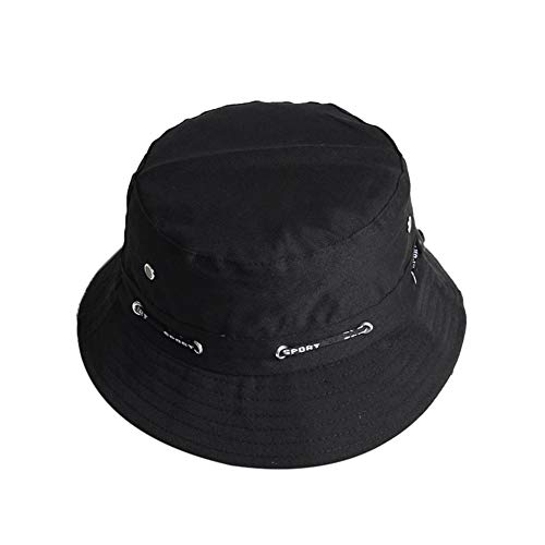 Drawihi Unisex Fischerhut, doppelseitig, modisch, bestickt, Sommer, kurze Krempe, für Männer, Frauen, Teenager