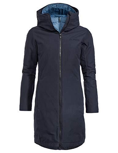 VAUDE Damen Annecy 3in1 Coat III Doppeljacke, blau(Eclipse uni), 36
