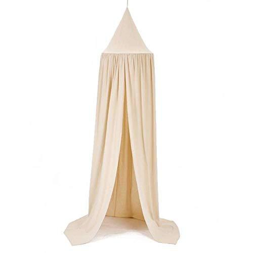 Canopy Redondo mosquitero Cama Cama con Cama de algodón de algodón válvula de lecho de plagas Rechazar Net Kids Habitación Decoración (Color : B4)